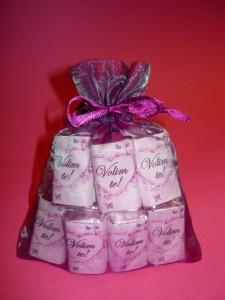cokolada, poklon, kesica, vreca od organdina, rodjendan