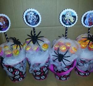 lizalice, dekoracija dečijih rođendana, Monster High