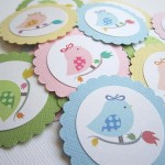 tag, medaljon, rodjendan, dekoracija rodjendana, ptica