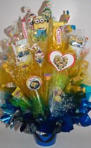 slatkiši, dekoracija dečijih rođendana, minions, malci