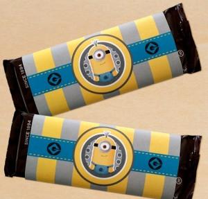 cokoladice minions, rodjendanska cokolada