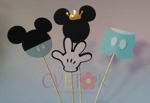 dekorativni stapici miki maus, dekoracija na stapicu za decije rodjendane