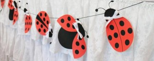 dekoracija, rodjendanska dekoracija, bubamara, viseci ukrasi, deciji rodjendani, trake