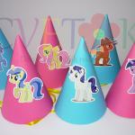kape za rodjendan na temu moj mali poni, rodjendanske kape sa likovima iz crtaca moj mali poni