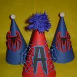 dekoracija rodjendana, rodjendanska dekoracija, deciji rodjendani, spajdermen, spiderman, kepa, rodjendanske kape