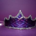 krune sa folijom, rodjendanska kapa