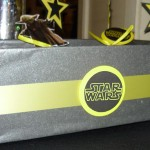 dekorisana kutija za kokice i grickalice za rodjendan na temu star wars