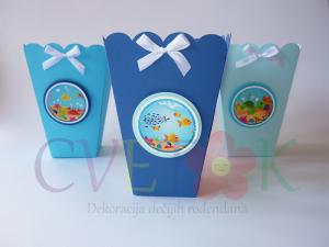 kutije za kokice sa morskim motivima