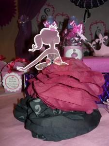 papirna, lutka, lutka, salvete, lutka od salveta, dekoracija za rodjendan, stona dekoracija, princeza