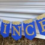 dekoracija dečijih rođendana, mali princ, slova, natpis