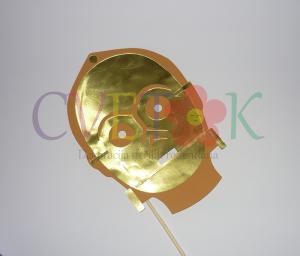 maska C-3PO, star wars foto rekviziti
