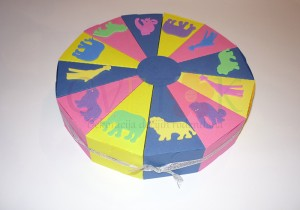 kartonska torta, dekoracija za rodjendan