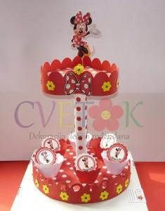 stalak za kolace Mini Maus, postolje kao dekoracija decijih rodjendana