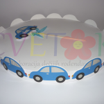 postolje za kolace sa auticima, stalak za tortu za deciji rodjendan na temu auto