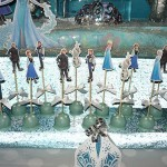 postolje za cake pops iz kolekcije Frozen, stalak za kolace na temu Frozen - Zaledjeno kraljevstvo