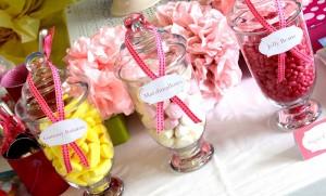 slatki sto, bombone, dekoracija