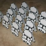 star wars, stormtroopers, pozivnice, rodjendan, dekoracija