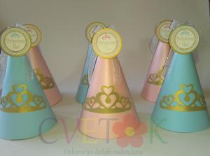 rodjendanske kape sa krunom, kapice za princeze