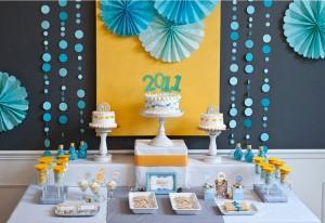 dekoracija rođendanskog stola