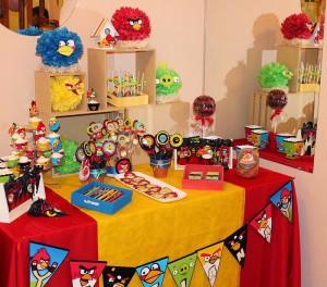 slatki sto, rođendanski sto, angry birds