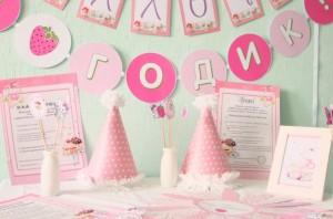 dekoracija decijih rodjendana, slatki sto, devojcice