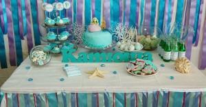 rodjendanski sto, dekoracija stola, slatki sto