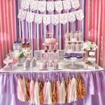 pepa prase slatki sto, dekoracija rodjendana za devojcice