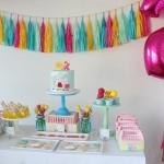 rodjendanski sto pepa prase, deciji rodjendani pepa, dekoracija za rodjendan