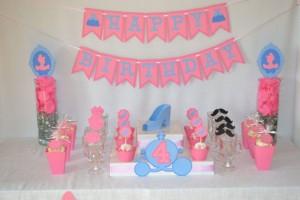 pepeljuga, cinderella, devojcice, rodjendan, cupcake