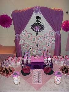 dekoracija decijih rodjendana, princeza, ukrasavanje stola, slatki sto