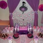 slatki sto princeza, dekoracija za rodjendan za devojcice na temu princeze