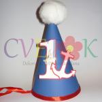 kapice za rodjendane mornar, paja patak kapa, kape za prvi rodjendan na temu paja patak