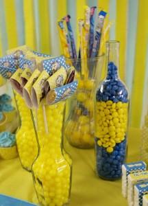 snupi i carli braun, slatki sto, dekoracija decijih rodjendana