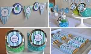 teglice, slatkiši, dečiji rođendani