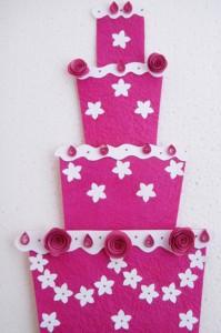 papirna torta, ukras, dekoracija, torta na sprat, deciji rodjendani, rodjendanska dekoracija