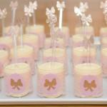ukrasene case i kasicice za museve, dekoracija posudja za slatki sto