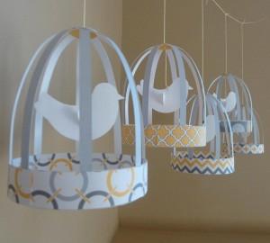 dekoracija ptica u kavezu