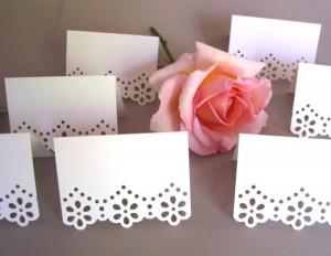 kartice za stolove, oznaka za sto, bordura