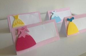 diznijeve princeze, haljine, rodjendan, kartice, oznaka za sto