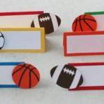 lopte, sport, deciji rodjendan, kartice, oznake, dekoracija