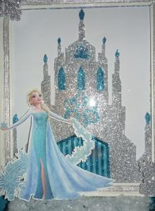frozen, dvorac, elsa, dekoracija
