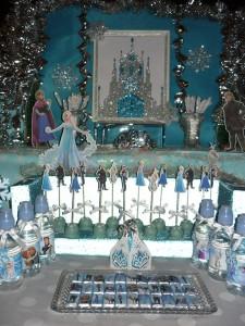 slatki sto, slatki sto frozen, dekoracija za rodjendan, rodjendanski sto