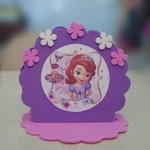 drzac za salvete princeza sofia, dekoracija za rodjendan