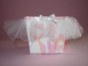kutije za kokice i slatkise balerina, dekorativne kutije za rodjendan na temu balerina