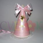 rodjendanska kapa sa zlatnim brojem, kapice za devojcice sa satenskom trakom