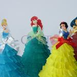 diznijee princeze, papirne lutke dizni, rođendanska dekoracija na temu diznijeve princeze
