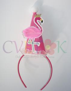 flamingo kapa na rajfu, slavljenicka kapica flamingo
