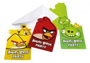 angry birds, rodjendan, pozivnice, stampane pozivnice
