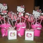 hello kitty, deciji rodjendani, dekoracija, likovi na stapicu, stapici sa likovima