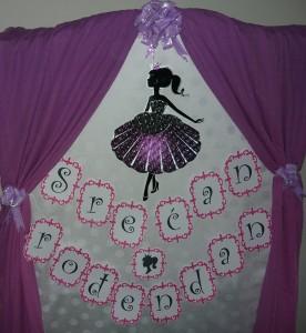 rodjendanski natpis, dekoracija decijih rodjendana, baner, princeza, rodjendanska dekoracija